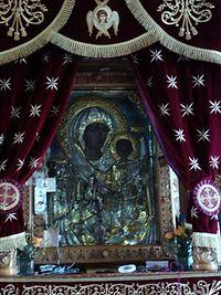 Чудотворная икона Богородицы из храма, где был смотрителем Апостолос