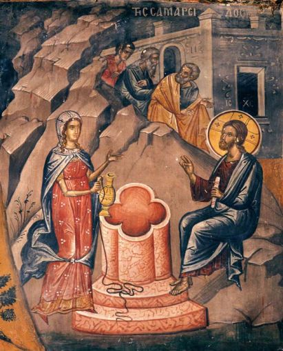 Fresco by Theophanes the Cretan, Monastery of Stavronikita, Mt Athos, 16th century