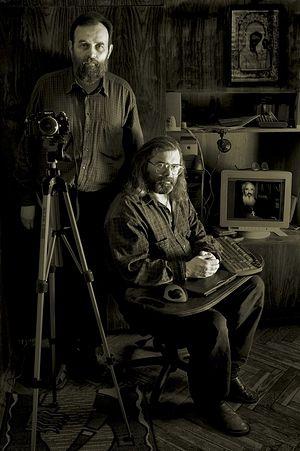 Иван Жук. Автопортрет