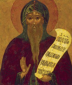 Преподобный Никита, столпник Переславский