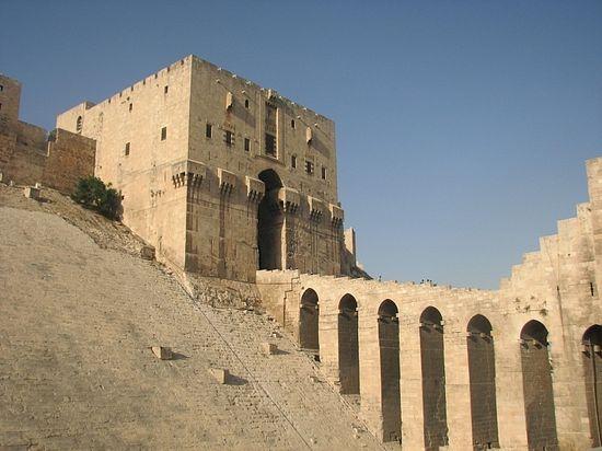 Алеппо. Цитадель крестоносцев