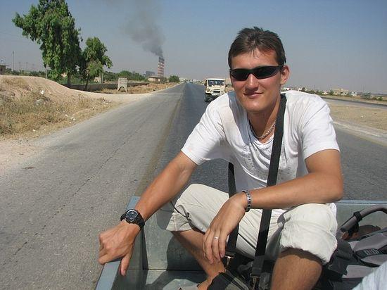 Вглубь Сирии. Евгений на борту