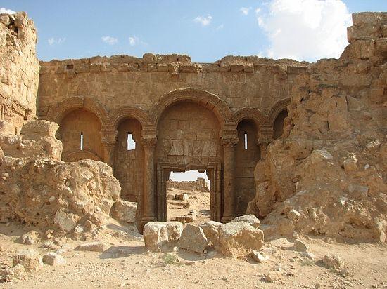 Древние развалины Рассафы