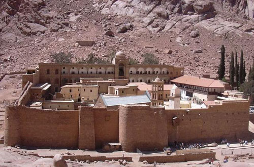 St. Catherine's Monastery on Sinai