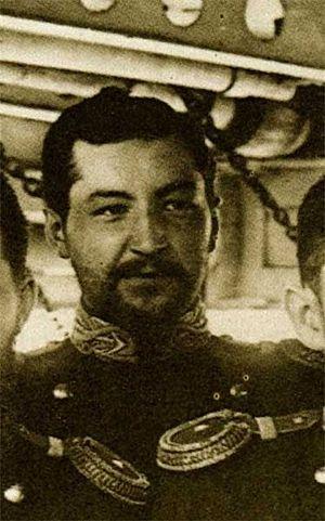 Адмирал Д. В. Ненюков на крейсере Адмирал Корнилов, 1894 год