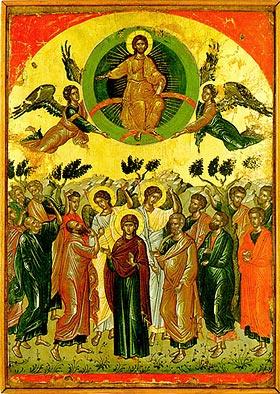 Вонесение Христа. Феофан Критский. 1546