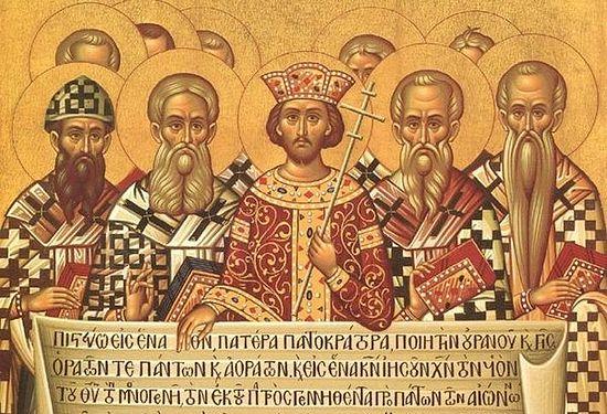 Святые отцы Первого Вселенского Собора