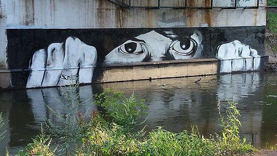 Граффити. Автор: Паша 183