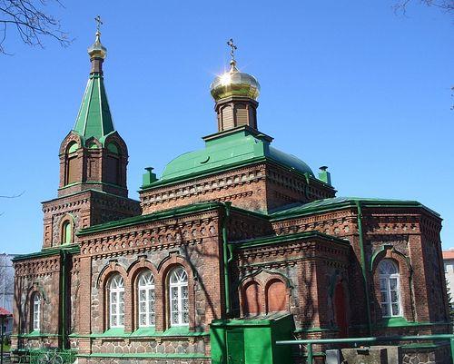 Йыхви. Богоявленская Церковь.