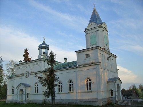 Муствеэ. Никольская Церковь.