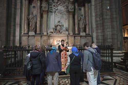 Православный молебен на мощах св. равноапостольной Феклы