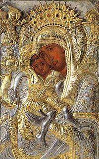 Чудотворная икона Пресвятой Богородицы «Достойно Есть»