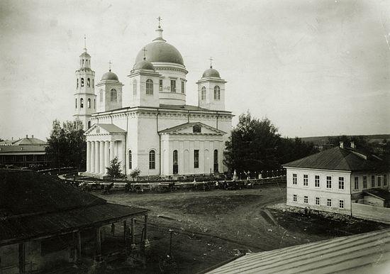 Собор в Кукарке, где служил о. Сергий