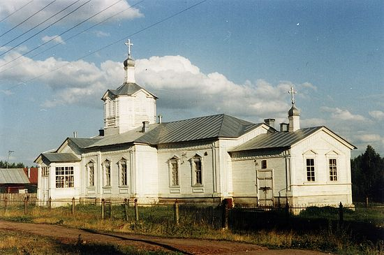 Спасский храм. Маккавеево