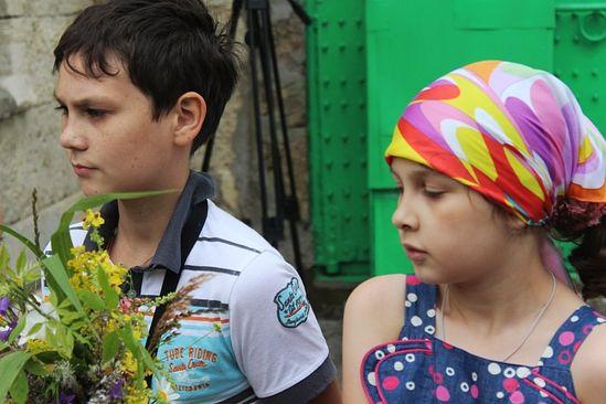 Юные паломники. Фото: Православие.ru
