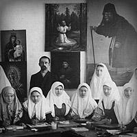 Дивеевские послушания: фотографии начала XX века