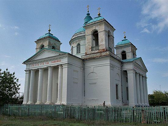 Храм во имя Пресвятой Троицы в Золотом