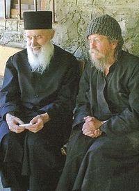 Со старцем Гавриилом Карейским