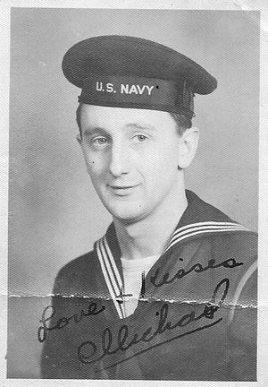 Старшина Михаил Барна на Тихоокеанском флоте (начало 1940-х годов)