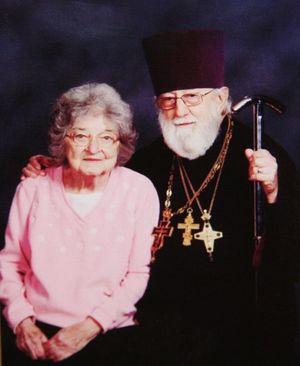 Отец Михаил Барна и матушка Джейн