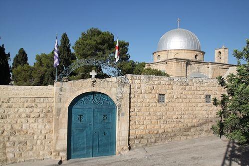 Греческий монастырь в Вифании.