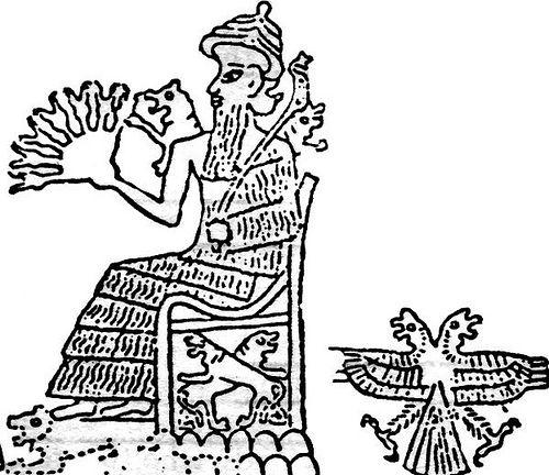 Шумерский бог Нинурта.