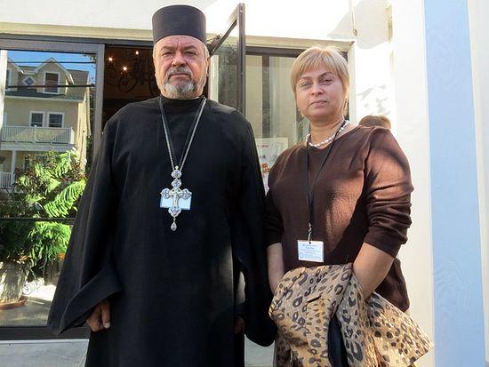 о. Андрей и матушка Ирина Пастух
