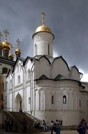Церковь Ризоположения. Московский Кремль