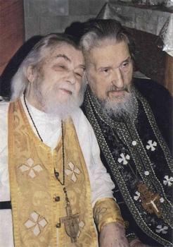 Духовные братья старцы Иоанн (Крестьянкин) и Иларион (Приходько)