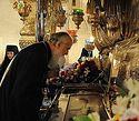Сербский Патриарх поклонился святыням Московского кремля и блаженной Матроне
