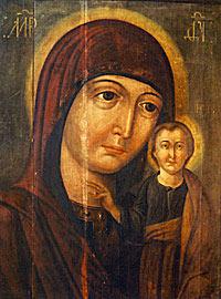 Обновленный образ Божией Матери Казанский