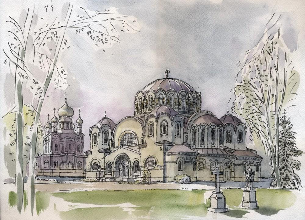 Казанская церковь Новодевичьего монастыря в Санкт-Петербурге. Автор: Иван Краснобаев