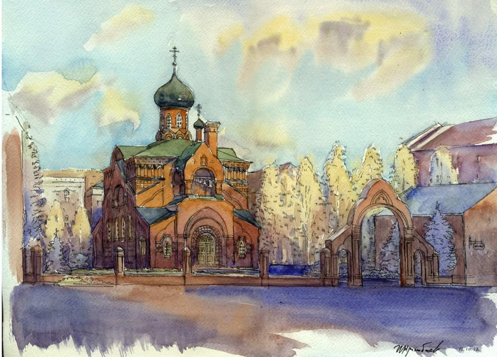 Старообрядческая церковь в г. Казани. Автор: Иван Краснобаев
