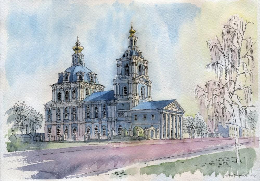 Сергиево-Казанский собор в г. Курске. Автор: Иван Краснобаев