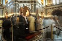 Свыше 1 млн человек в России, на Украине и в Белоруссии поклонились кресту апостола Андрея Первозванного