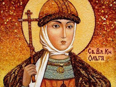 Преставление блаженной княгини Ольги, во святом крещении Елены