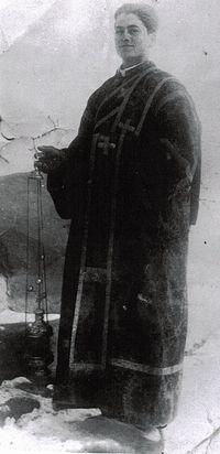 Отец Иустин в 1938 году, монастырь Дурэу