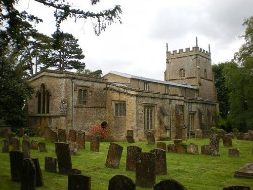 Церковь св. Кенелма в Энстоне, Оксфордшир.