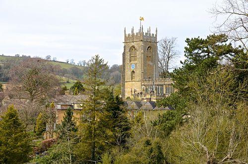 Церковь св. Петра в Уинчкомбе, Глостершир.