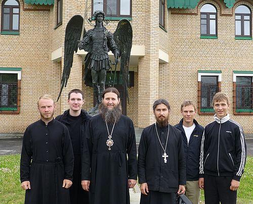 На встрече с митрополитом Архангельским Даниилом
