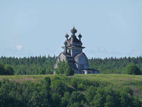 Д. Подпорожье. Храм ждет своих федеральных реставраторов