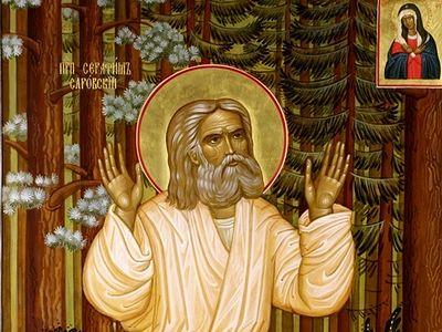 Святой старец Серафим