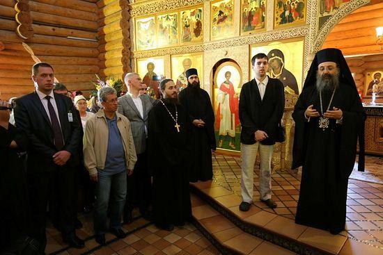 Прощальное слово митрополита Патрского Хризостома в Минске