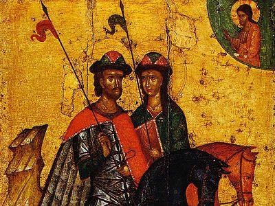 Сказание и страдание и похвала мученикам святым Борису и Глебу