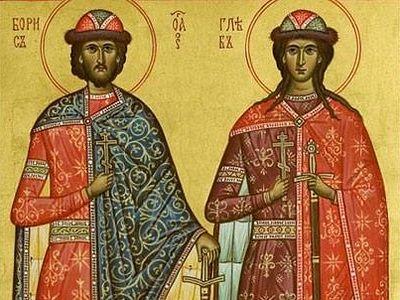 Святые страстотерпцы Борис и Глеб: к истории канонизации и написания житий