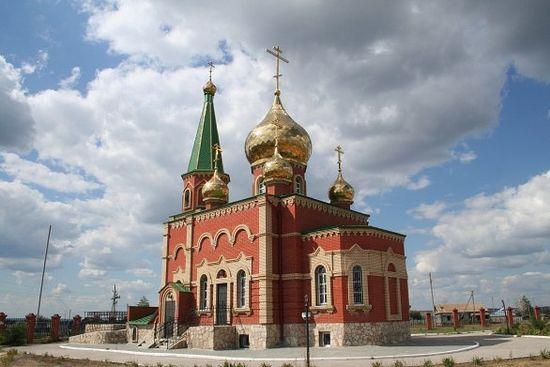 Христорождественский храм с. Рыбушка