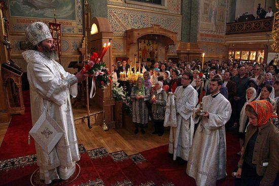 В свято-Никольском соборе Нью-Йорка