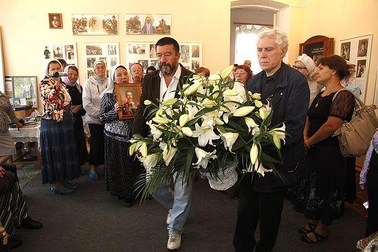 Посещениие мемориальной комнаты Напольной школы г. Алапаевска, в которой находилась в заточении Елизавета Федоровна