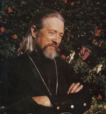 Archimandrite Gerasim (Shmaltz) on Spruce Island.