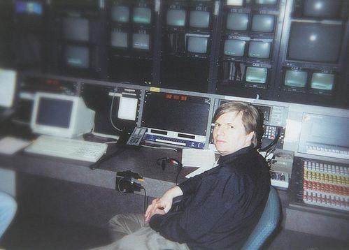 Диспетчерская Fox News до реконструкции.